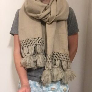 Anthropology fall scarf